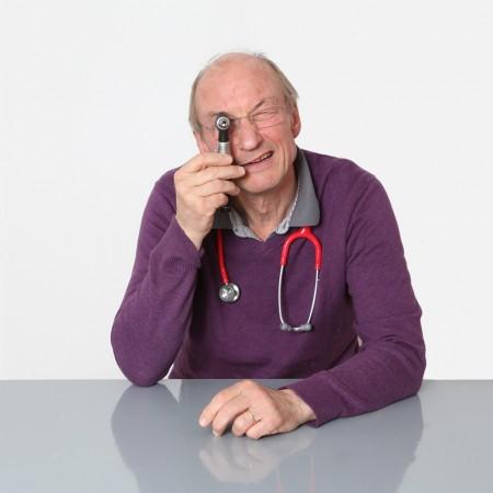 Kinderarzt Albrecht Römhild hatte Corona