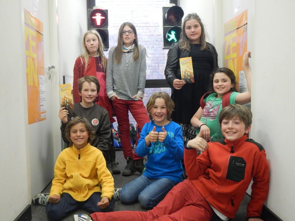 Radiofüchse aus der Louise Schroeder Schule