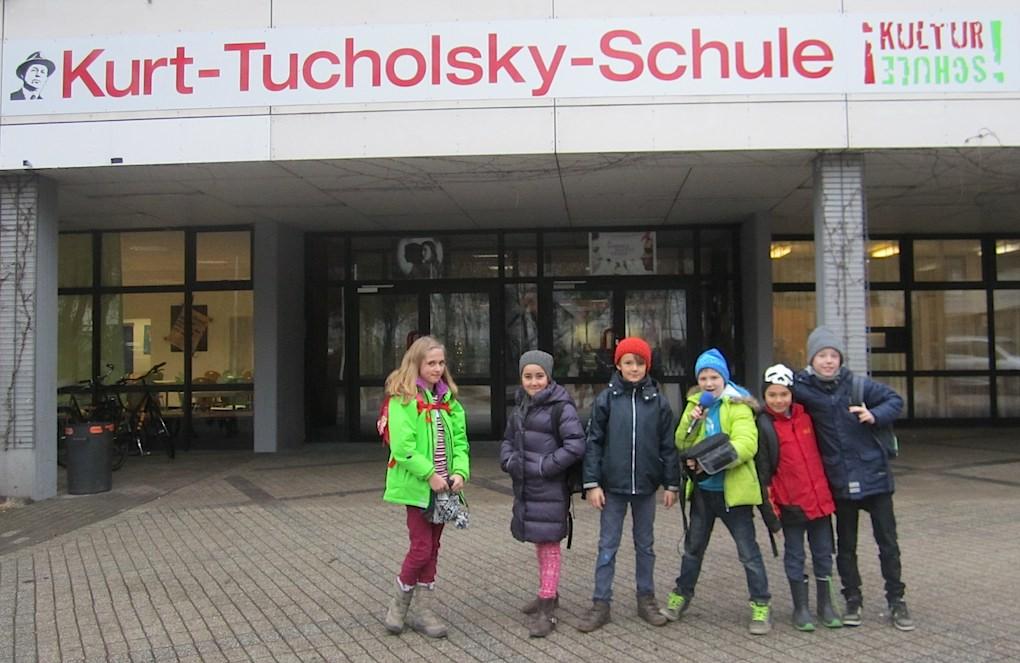 Die Radiofüchse an der Kurt-Tucholsky-Schule