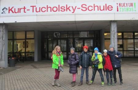 Die Radiofüchse erkunden die Kurt-Tucholsky-Schule