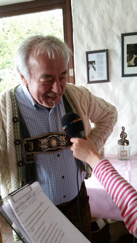 Die Radiofüchse mit Jodelkaiser Josef Ecker