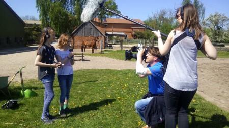 Wir wurden vom NDR gefilmt, Tierfilmzentrale
