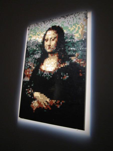 Mona Lisa aus LEGO